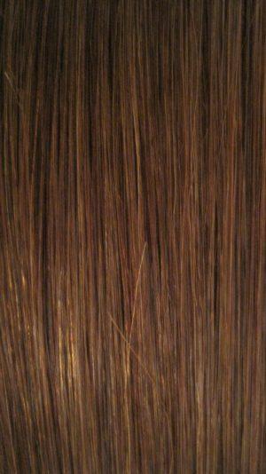 Colour 6 Medium Chestnut Brown Hair Extensions