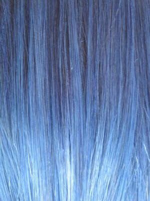 Colour Blue Hair Extensions