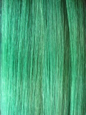Colour Green Hair Extensions