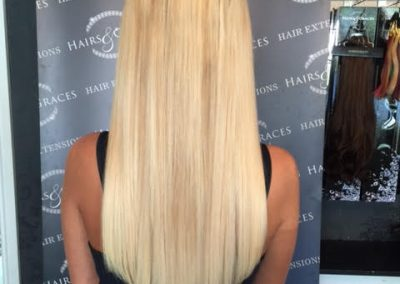 Blonde Hair Extensions from Hairs and Graces