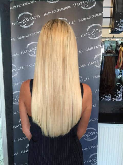 Hair extension fitting birmingham by hairs and graces extensions blonde hair extensions from hairs and graces pmusecretfo Image collections