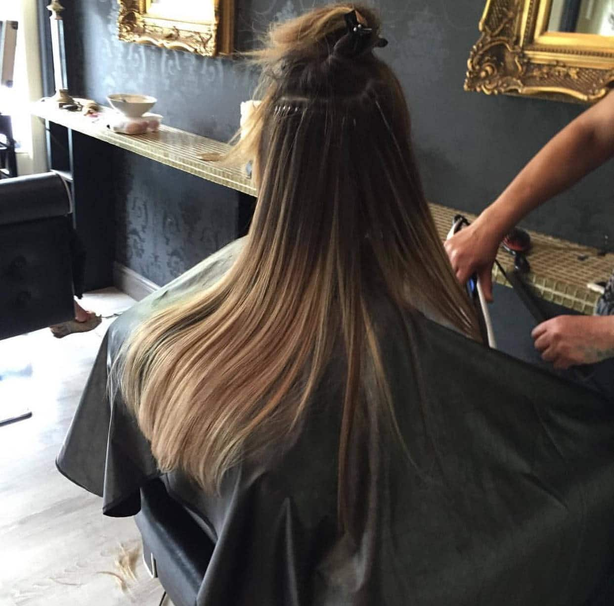 Hair Extension Fitting Birmingham By Hairs And Graces