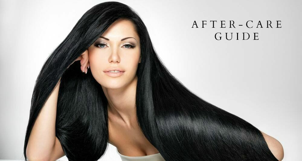 Hair extensions after care by hairs and graces extensions hair extensions after care pmusecretfo Image collections